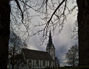 Skatval Kirche Stjørdal Norwegen