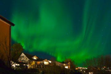 Nordlichter Stjørdal Norwegen