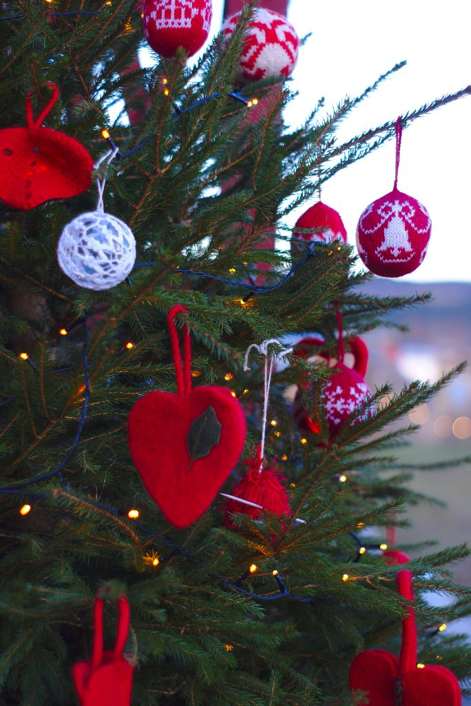 Weihnachtsbaum Jul på museum Stjørdal