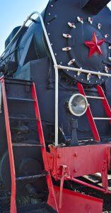 Dampfloktranssibirische eisenbahn