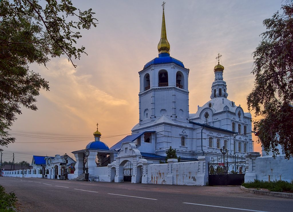 Kathedrale in Ulan-Ude Russland