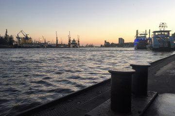 Hamburg hafen aussicht