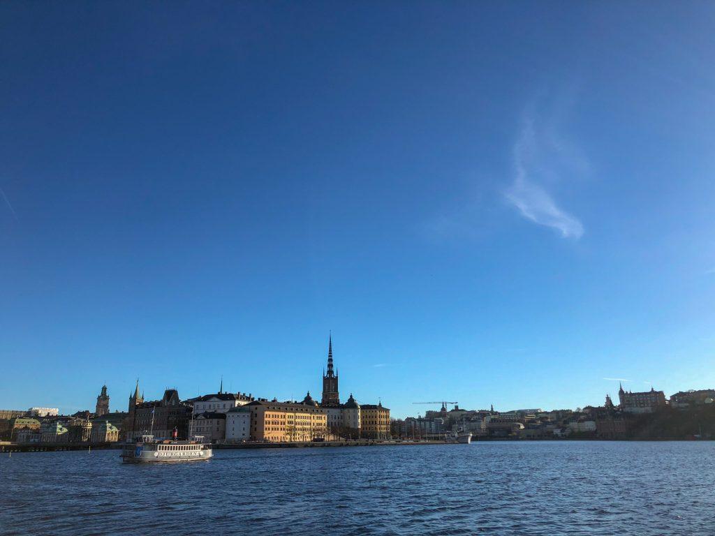 Stockholm Wassersicht