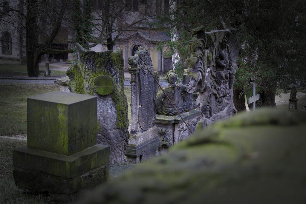 Grabsteine Nikolaifriedhof Nikolaivorstadt Görlitz