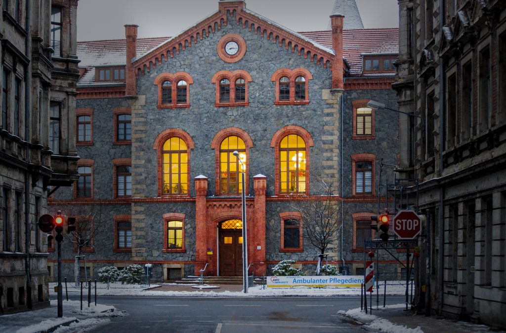 Zentralhospital Görlitz alten und Pflegeheim Alststadtmillionen