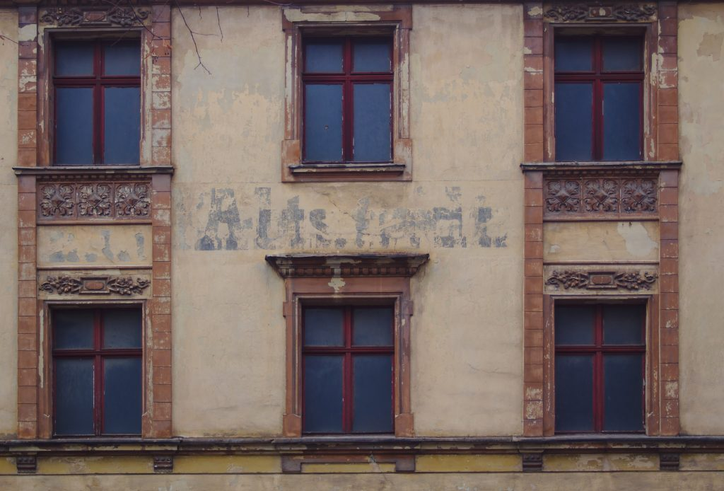 Unsaniertes, altes Haus Görlitz Altstadtmillionen