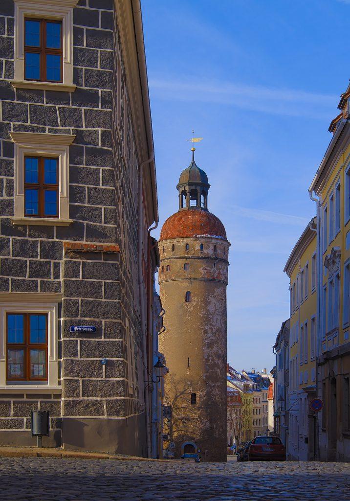 Nikolaiturm Görlitz sachsen zurück in Deutschland