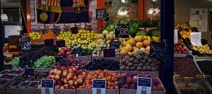 Lieblingsmarkt Obst Markthalle Budapest Ungarn Obst Lieblingsmärkte