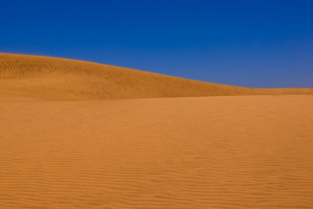 Gelber Wüstensand