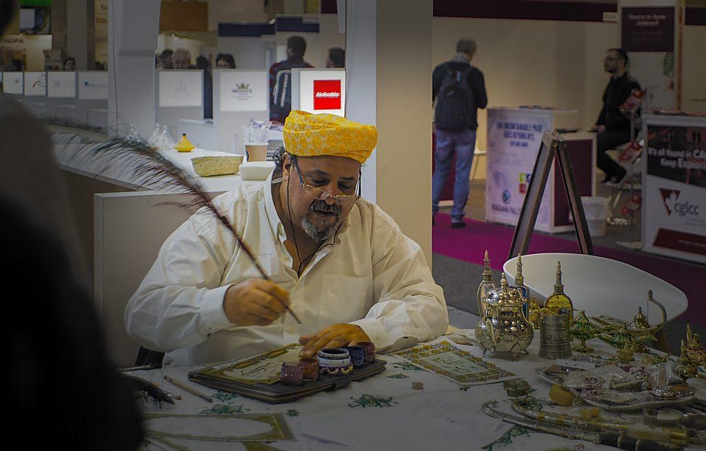 arabische Kalligraphie Marokko ITb Berlin