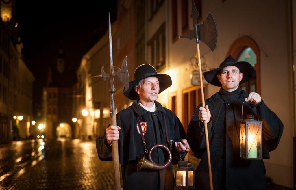 Mit dem Nachtwächter unterwegs in Görlitz