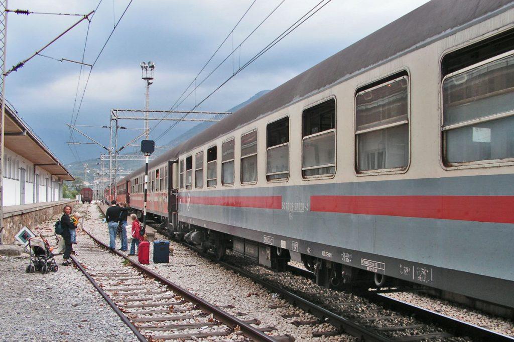 Belgrad -Bar schönste Zugstrecken