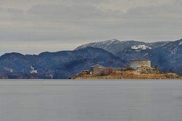 trondelag panorama Blick auf steinvikholm