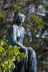 Portrait einer Statue
