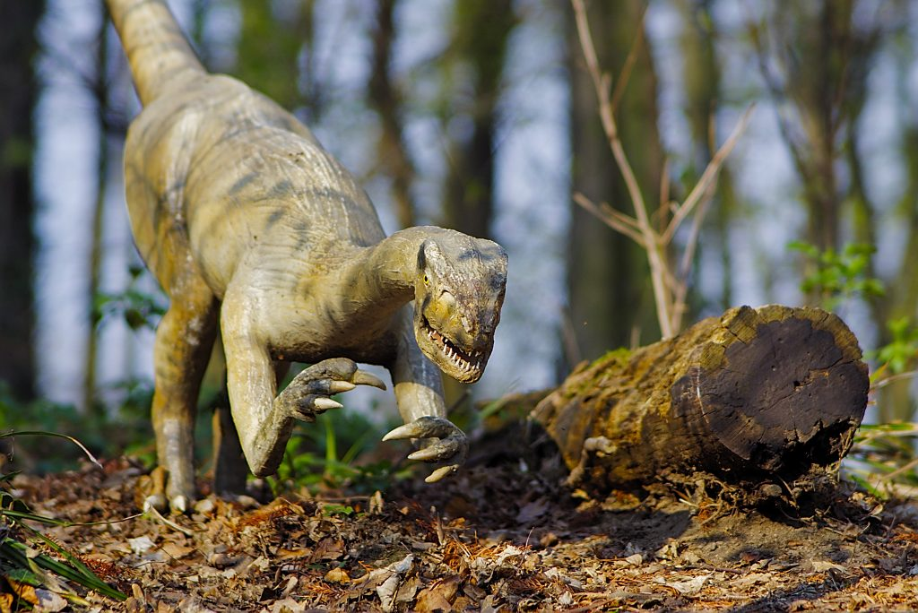 Böser Dino
