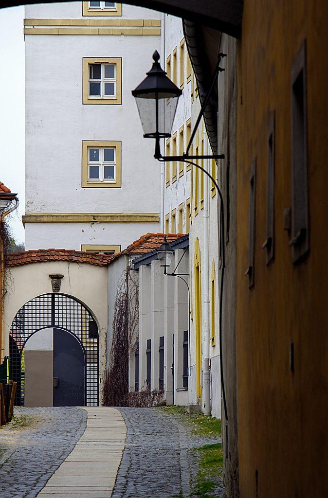 Kleine Gasse in der Altstadt