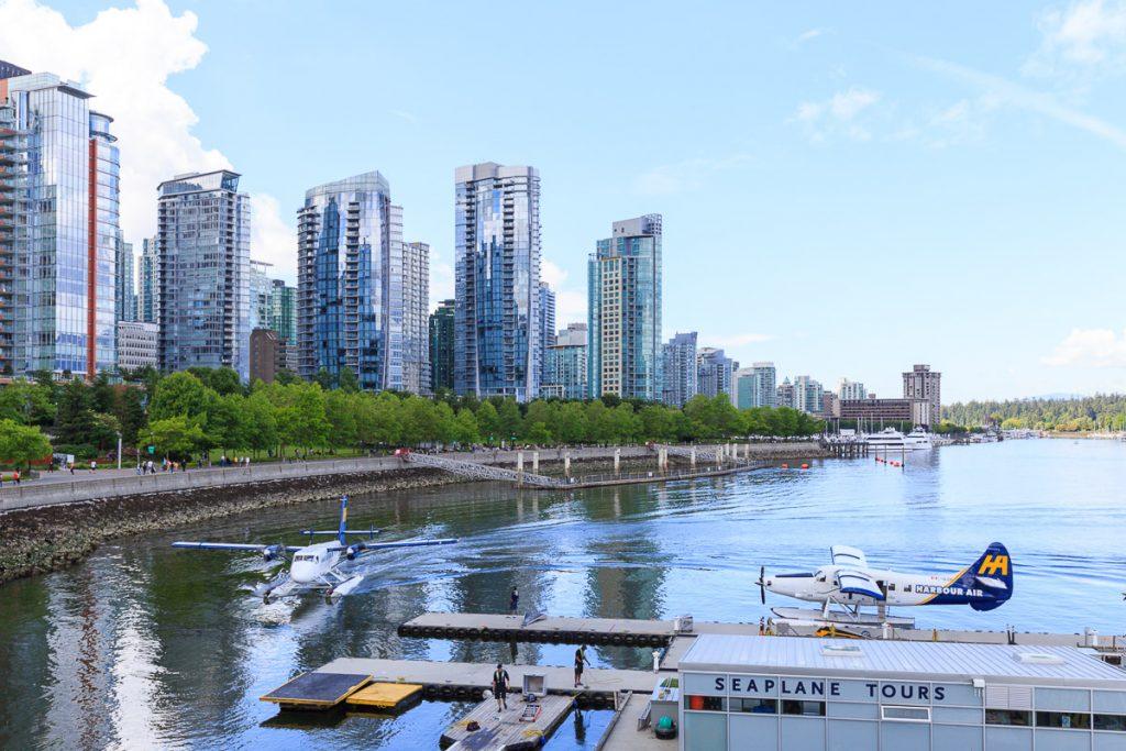 Vancouver Kananda Hafen coal Harbour