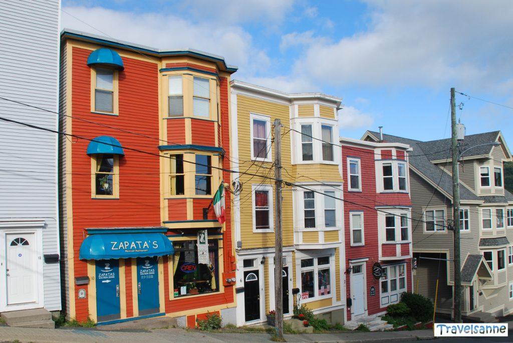Lieblingsstadt im Norden Häuser St.Johns Saint John's