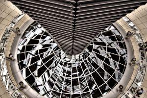 Kuppel des Reichstags BErlin Deutschland