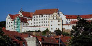 Panorama Schloss Colditz Sachsen