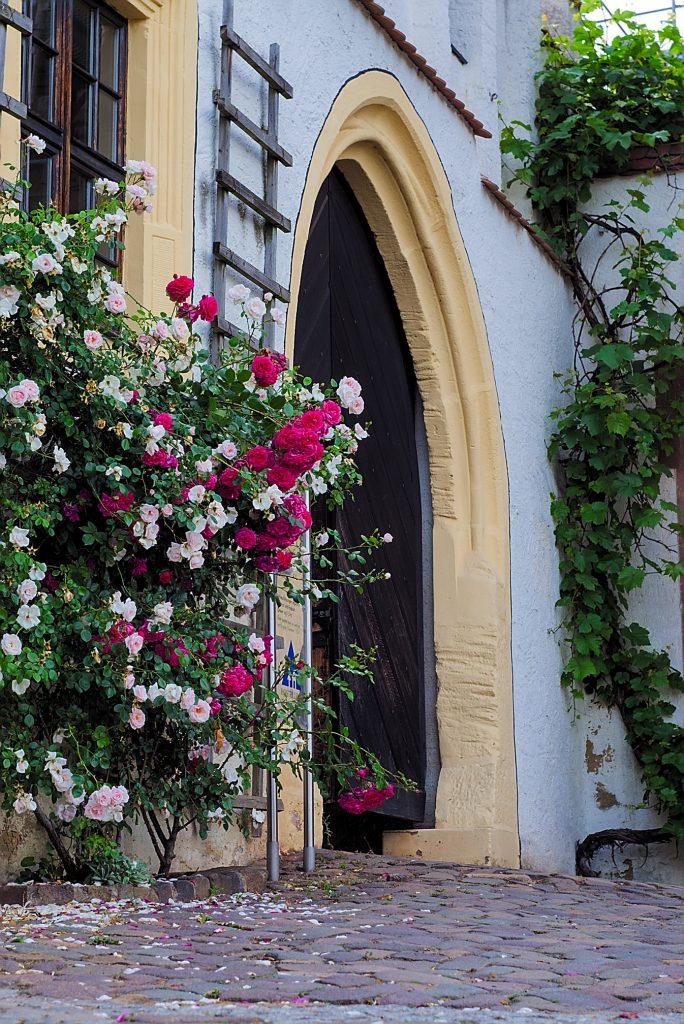 Eingang zum Schloss Colditz