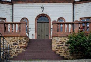 Eingang zur Jugendherberge Schloss Colditz