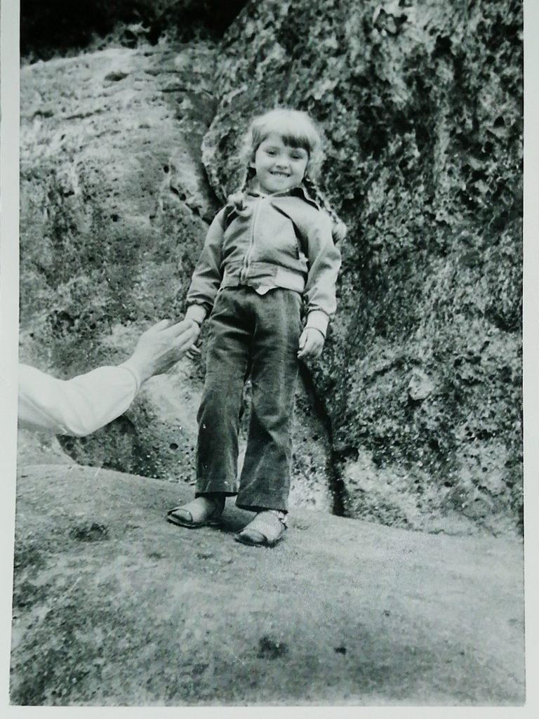 Reiseerfahrungen in der Kindheit Berge erklommen Kind