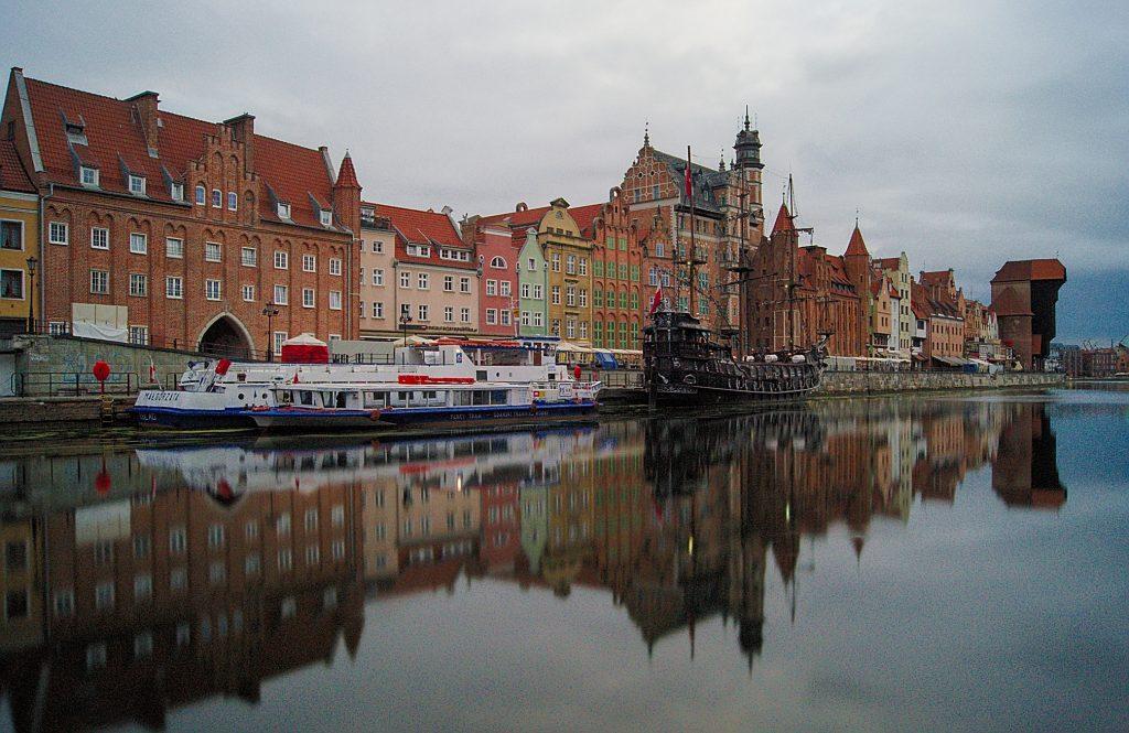 Gdansk Altsstadt Interrail durch Polen