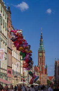 GdanskMarktsplatz Luftballons