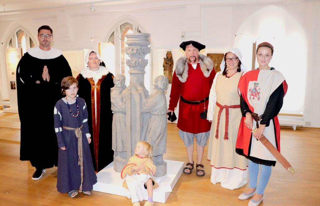Freizeitspione Prignitzmuseum Havelberg Menschen verkleidet Mittelalter