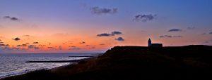 Dänemark Urlaub mit Baby Sonnenuntergang