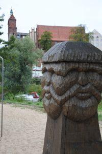 Slawenspielplatz Havelberg Freizeitspione Blick zum Dom