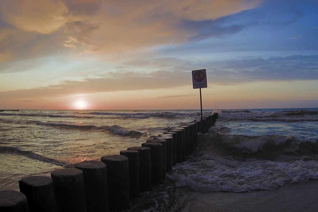 Fotoparade 2019 Sonnenuntergang an der polnischen Ostsee