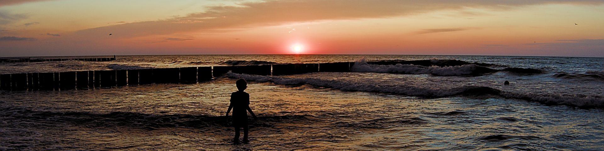 Sonnenuntergang POlen Ostsee