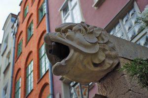LöwenkopfRegenrinne Gdansk