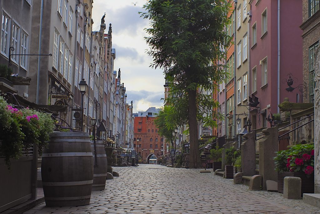 Frauengasse Gdansk