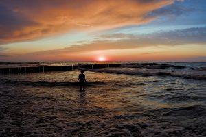 Reisehighlights 2019 Sonnenuntergang polnische Ostsee
