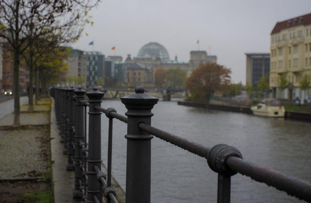 Berlin im Regen 30Jahre Mauerfall