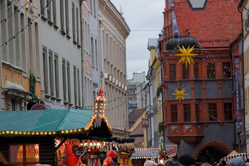schlesischer christkindelmarkt zu görlitz markt herrnhuter stern