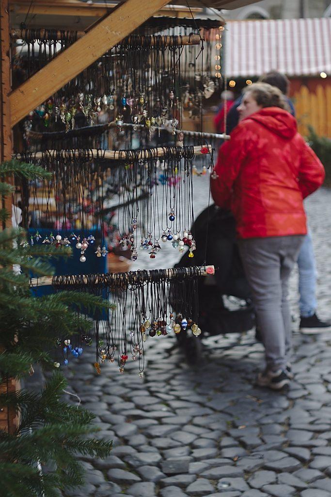 Stand schlesischer christkindelmarkt zu görlitz