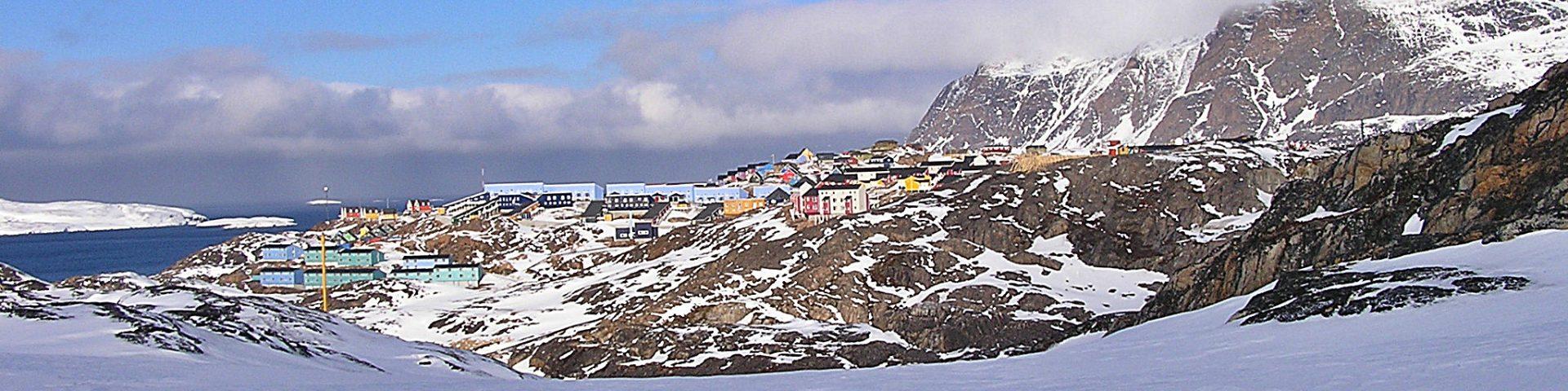 Grönland landschaft sisimiut