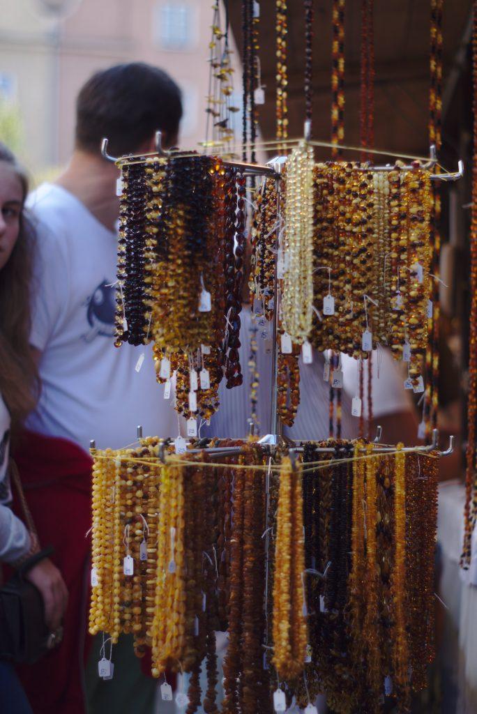 Bernsteinschmuck Dominikaner Markt Gdansk