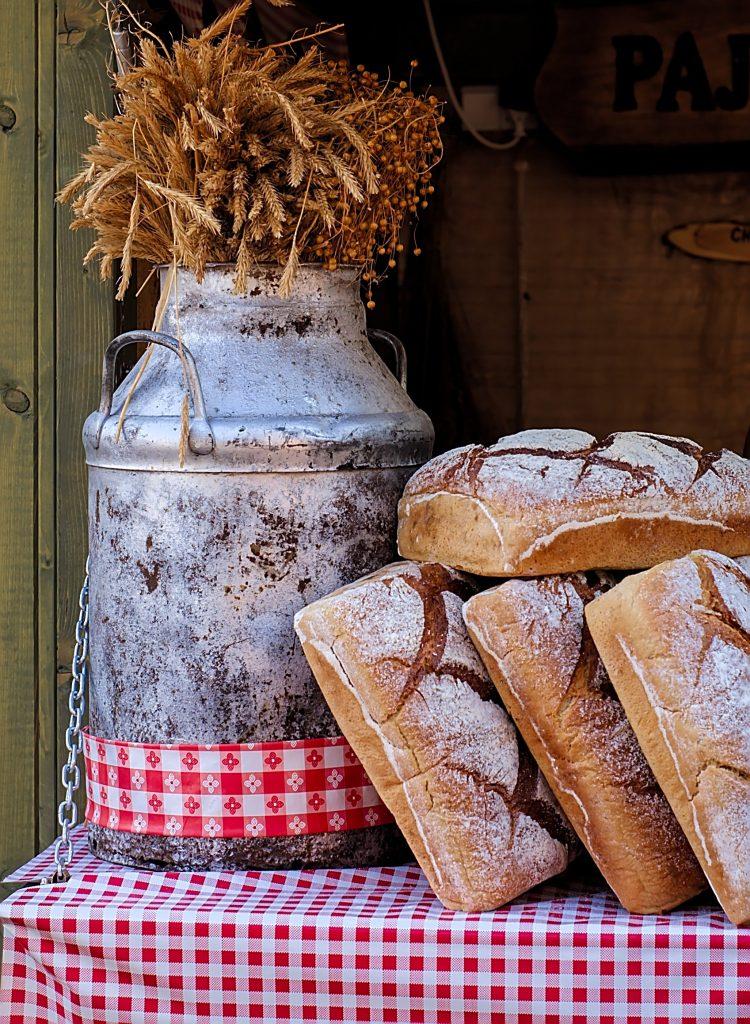 Brot Dominikanermarkt in Gdansk