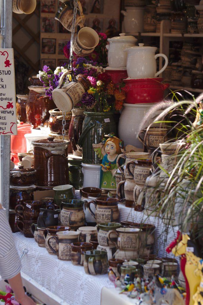 Dominikanermarkt in Gdansk