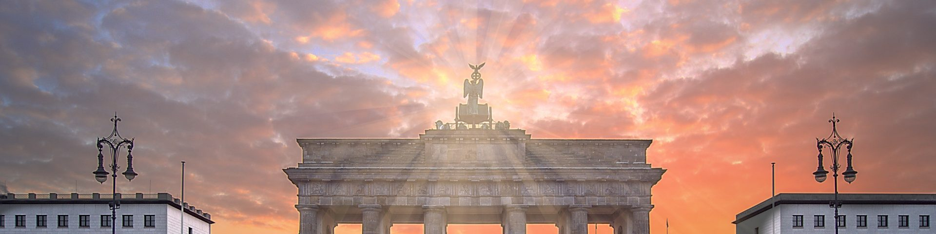 wo die Sonne zuerst aufgeht Berliner Tor