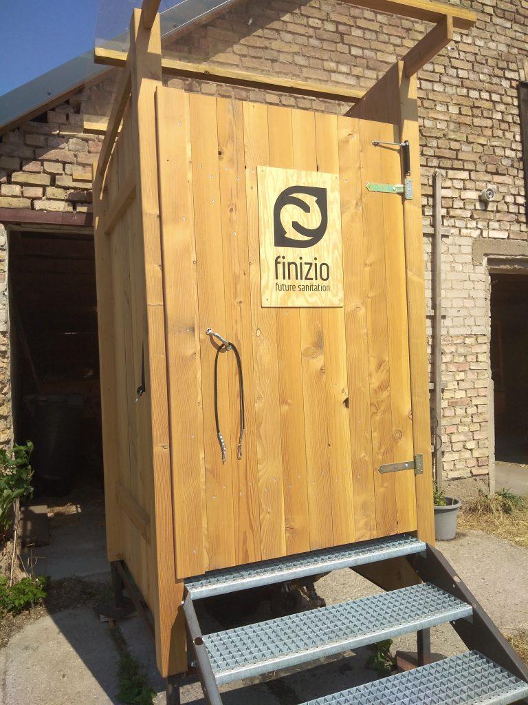 Komposttoilett,Liesje Trecking,Uckermark