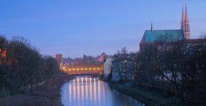 Altstadtbrücke Görlitz Grenze PolenDeutschland