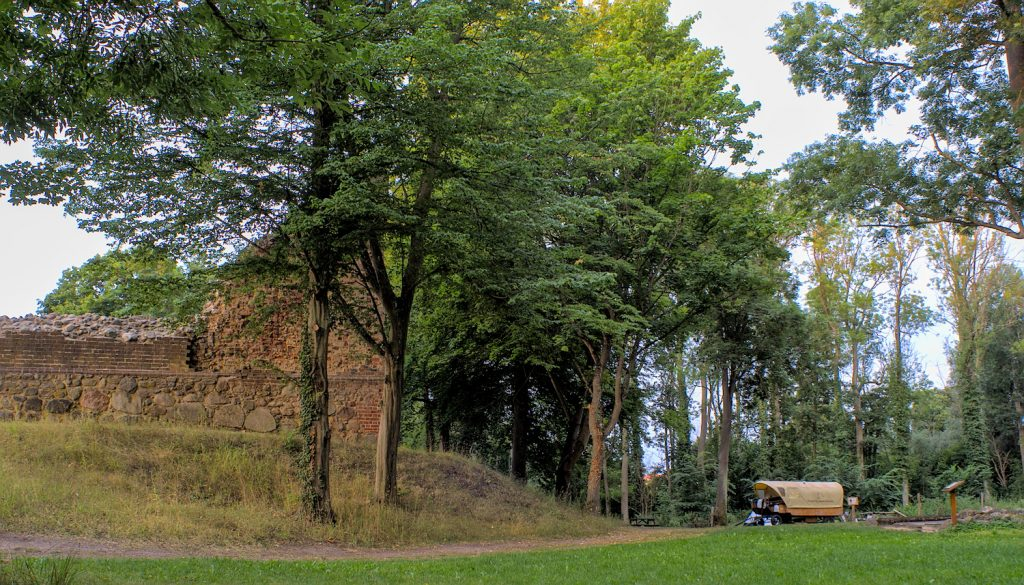 Wasserburg Gerswalde Planwagen uckermark