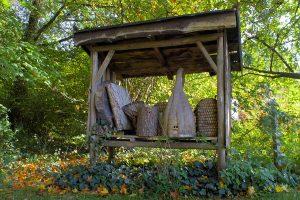 Bienenkörbe biologisches Zentrum Münsterland