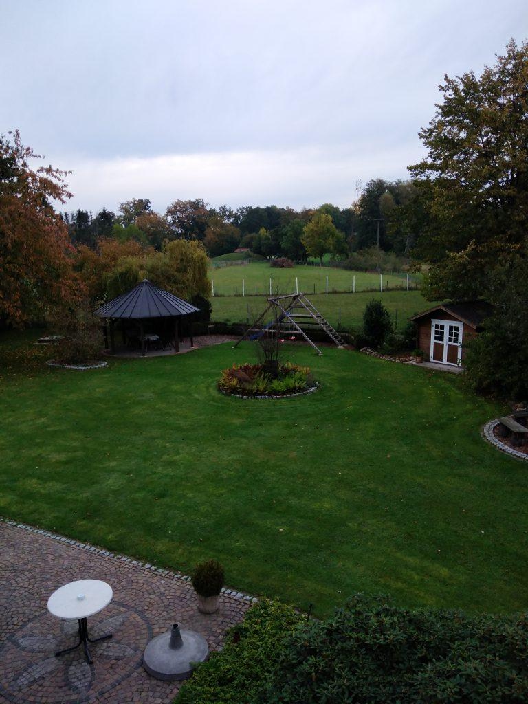 Ferienhof Maas Münsterland Aussicht aus dem Zimmer